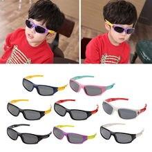 Hot Crianças Cuidados UV Óculos de Segurança óculos de Proteção Óculos de Sol  Óculos Polarizados Óculos De Sol Do Bebê cae8e4f2f2