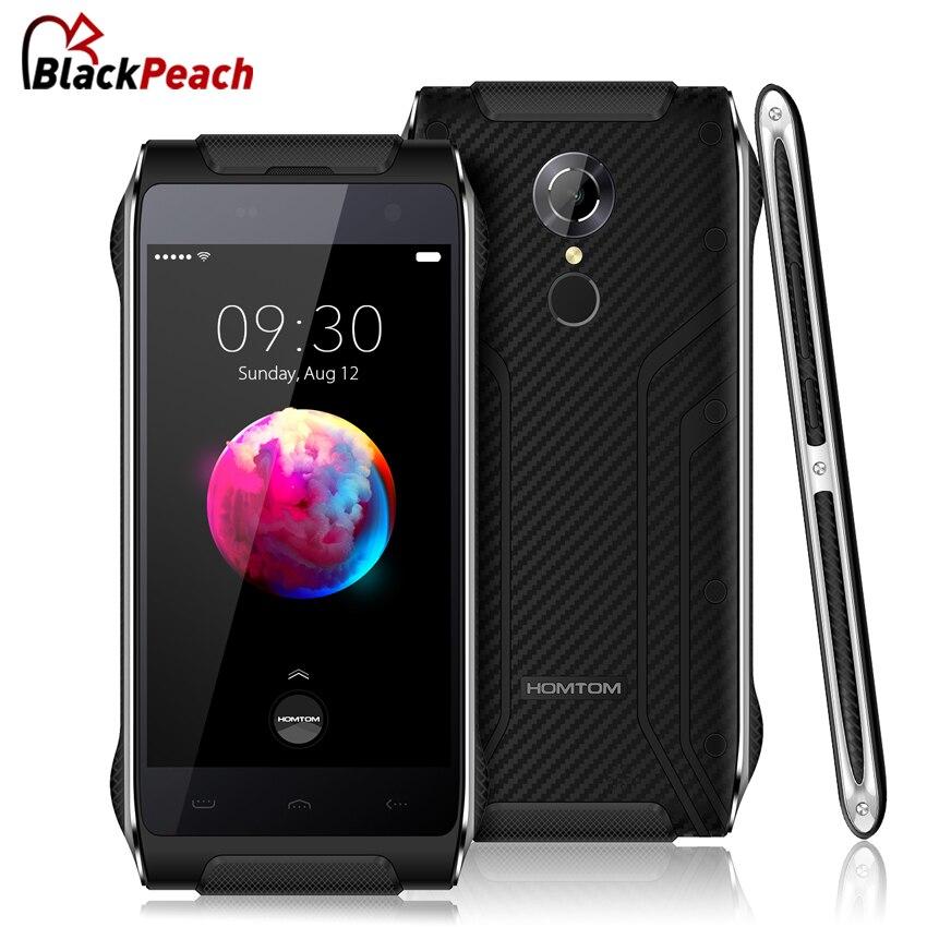 Цена за Homtom ht20 pro ip68 водонепроницаемый мобильный телефон 4.7 дюймов hd mtk6753 окта основные android 6.0 3 ГБ + 32 ГБ отпечатков пальцев 4 г смартфон 13mp