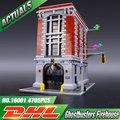 ЛЕПИН 16001 4695 Шт. Ghostbusters Пожарной Штаб Модель Строительные Наборы Модели установлен Совместимый С 75827