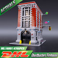 LEPIN 16001 4695Pcs Ghostbusters Firehouse Headquarters Model Building Kits Model set Compatible With 75827