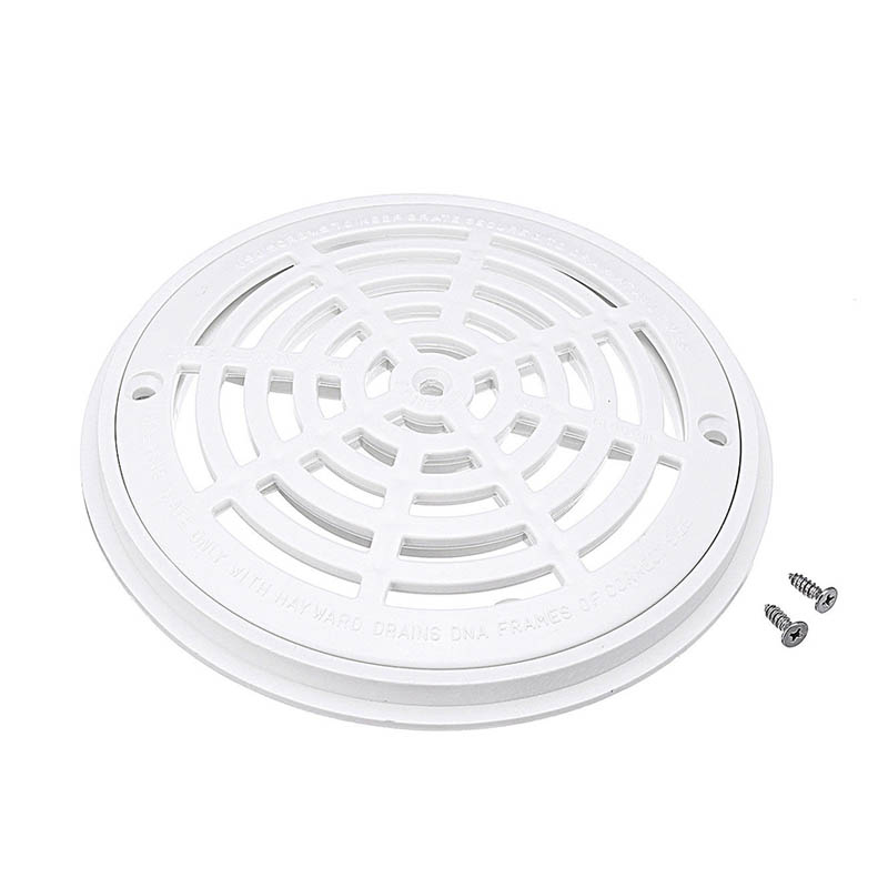 8inch replacement round main drain cover with screws for - Swimming pool main drain cover replacement ...