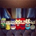 10 pcs = 5 pairs = 1 Lote heróis da marvel superheroes superman batman spiderman americano chinelos meias de algodão meias invisíveis