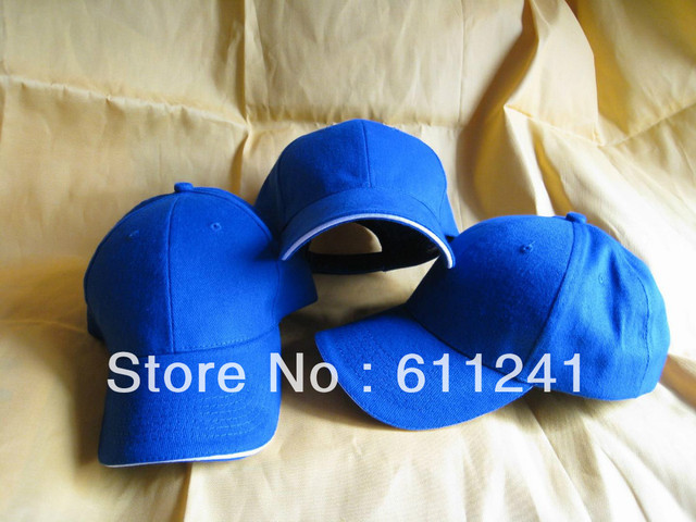 US $154 0 |Blank cap mini order 10pcs Adult Customized Baseball caps LOGO  Embroidery snapback cap Customized hats wholesale-in Baseball Caps from