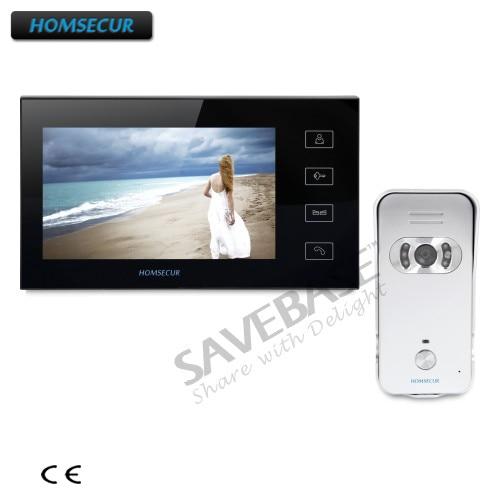"HOMSECUR 7"" Wired Video&Audio Smart Doorbell+Transportation from RU"