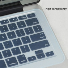 Dustproof Film Silicone Laptop Keyboard Protective Waterproof 14 15 17 inch Notebook Cover
