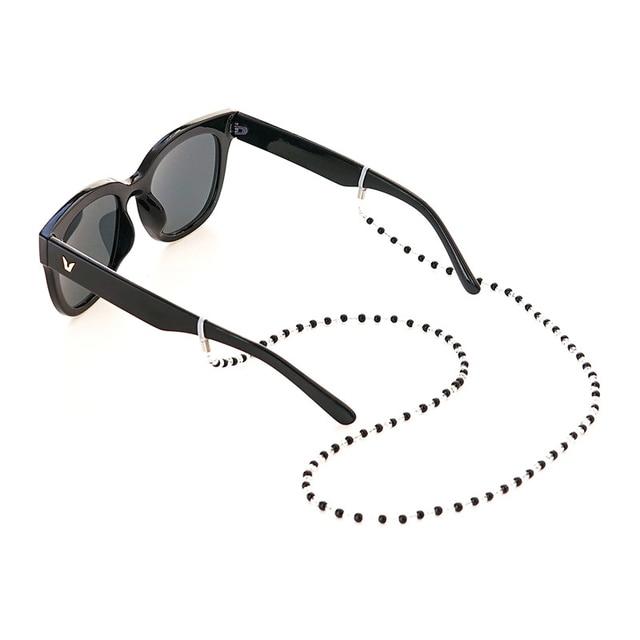 153dc8eaece7 € 3.63  Cuentas de cristal para mujer gafas de sol gafas de lectura cadena  cordón soporte cuello Correa cuerda en Gafas Accesorios de Accesorios ...