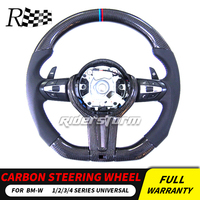 For BMW 5/6/7 series Carbon Fiber Steering Wheel Racing Universal Replacement Auto Accessories Car Styling F10 Steering wheel