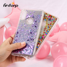 Glitter Liquid Quicksand Case for Xiaomi Redmi Note 5 Pro 4X Cases Silicone Mirror Cover For Mi 8 SE Plus 6