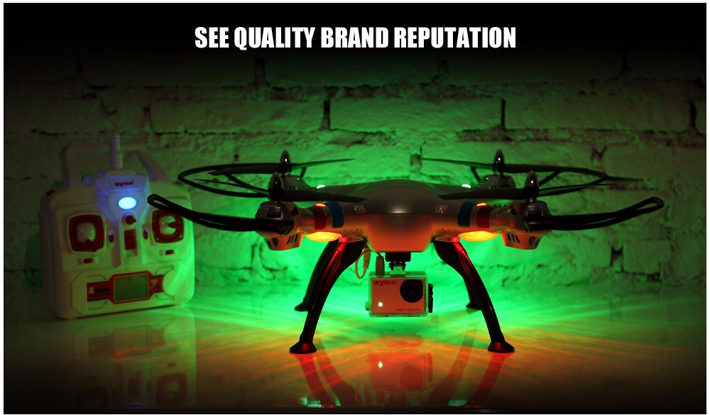 SYMA Professional UAV X8HG X8HW X8HC 2.4G 4CH RC Helicopter Drones 1080P 8MP HD Camera Quadcopter (SYMA X8C/X8W/ X8G Upgrade) 23