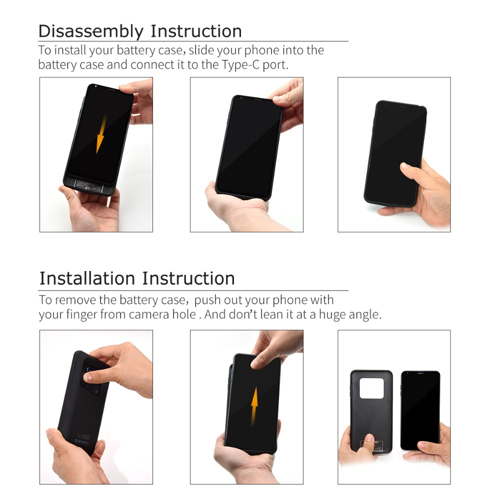 New Products 5500mAh Smart Phone Battery Case For Samsung S8 Plus S8+ 5000mAh Charger Case Colorful For Samsung Galaxy S8