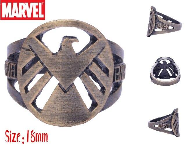 Кольца с эмблемами героев Марвел и DC Marvel 2