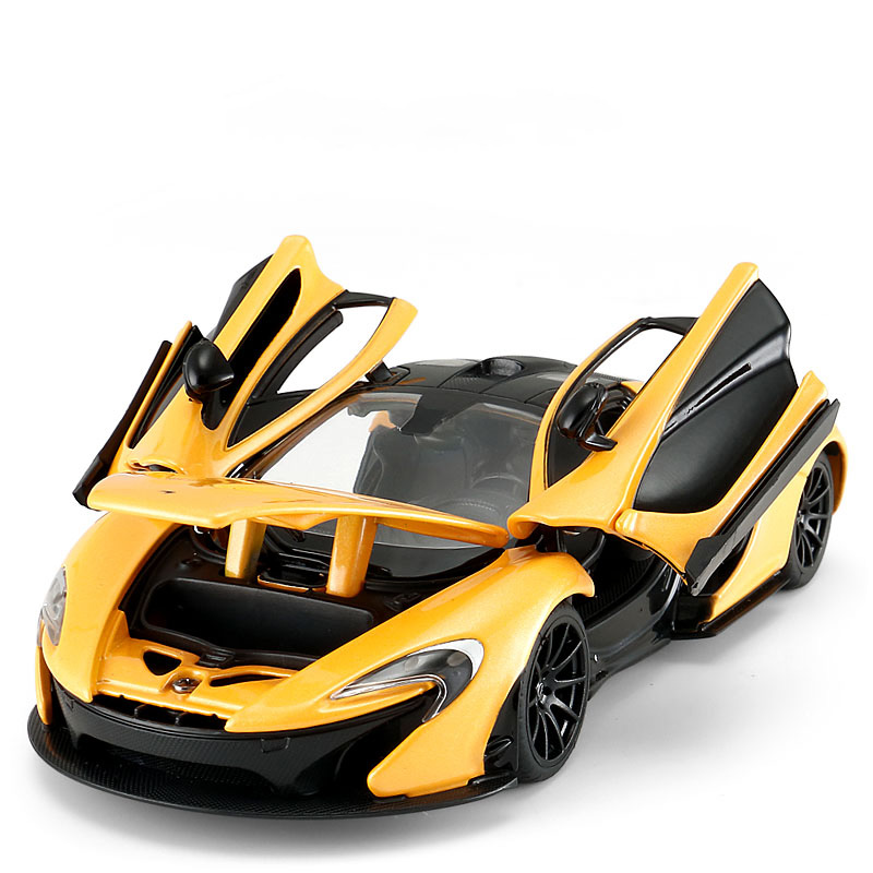 1:24 Car for Mclaren P1 Static State Alloy Diecast Model Luxury High-end Sports Car Toy Boy Adult Collectible Gifts Original Box mz mclaren p1 27051