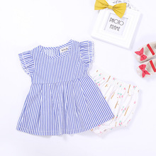 Girl Dresses 2017 Casual Fashion Summer Infant Newborn Baby Clothing Children Girls Clothes For 1 Year Birthday Princess Dress