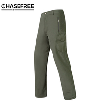 Shark Skin Softshell Outdoors Tactical Military Camouflage Pants Men Winter Army Waterproof Thermal Camo Hunt Hike