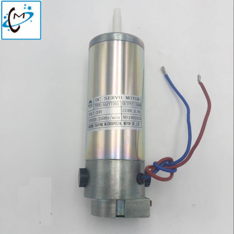 Hot sale !!! infiniti FY-3312C / FY-3208C large format printer 24v Aprint dc servo motor (2500 r/min 5.9A ) цена