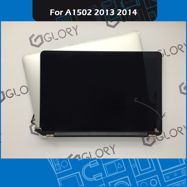 """Genuine Laptop Complete LCD Display Assembly for Macbook Pro Retina 13"""" A1502 LCD Screen Assembly Replacement 2013 2014 2015"""
