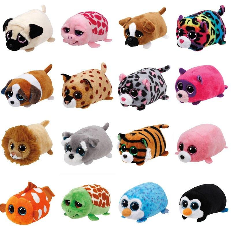 Ty Teeny Tys Tsum Tsum Tiggy Tiger regal lion puck Panda