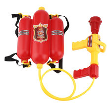 Water Fight Gun Toy Child Fire Backpack Nozzle Air Pressure Water Gun Toy Summer Beach Party Toys Splashing Outdoor Games(China)