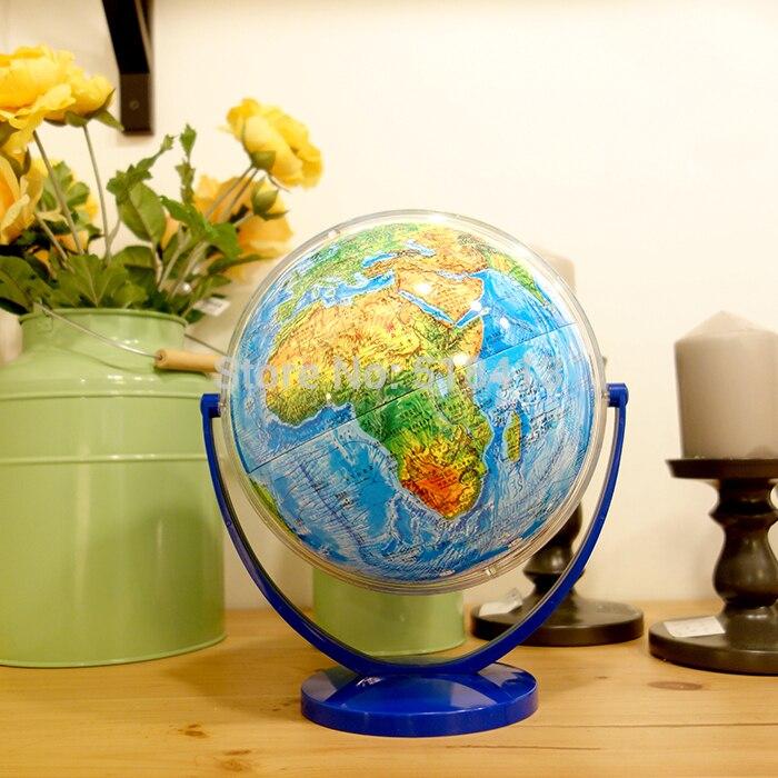 Inclinaison De Universel Dia 20 cm Hd Topographie Districts Dans Les Deux Anglais Et Chinois Globe Terrestre Étudiant