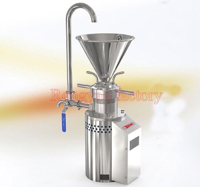 RY-JML-65 qualité Alimentaire moulin colloïdal en acier inoxydable moulin à l'industrie chimique, alimentaire, produits laitiers, cosmétiques, peinture, laboratoire