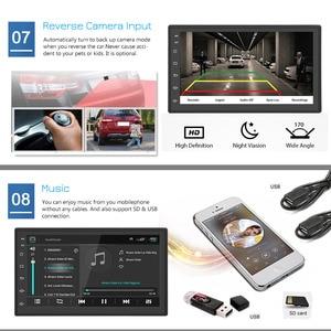 Image 4 - Podofo 2din Android Car Radio Multimedia Player Autoradio 2 Din 7 GPS WIFI Auto Audio Stereo MAP For Volkswagen Nissan Hyundai