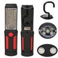 Супер Яркий USB Зарядки 36 + 5 СВЕТОДИОДНЫЙ Фонарик Работа Света Факел Linternas Магнитных + КРЮК Мобильный Банк Питания Для ваш Телефон На Открытом Воздухе