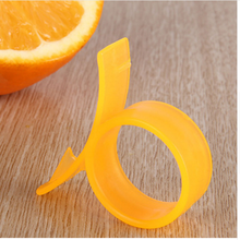 Kitchen accessories 1pcs open f inger o range peeler kitchen tools for Refers to the ring type