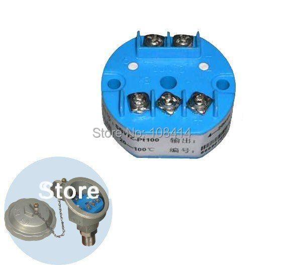 FACTORY wholesale RTD Temperature Transmitter PT100,4-20mA,FREE shipping zndiy bry sbwz rtd pt100 0 150 c dc 24v 20ma temperature sensor transmitter module deep blue