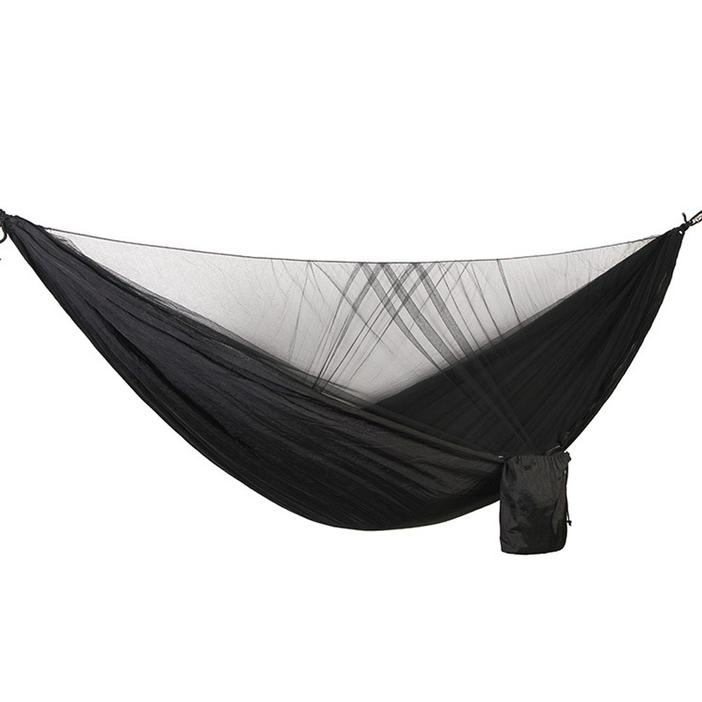 290*140CM Camping Hammock with Mosquito Net Ultra-light Portable Double Parachute Hammocks 2 Person Swing Sleeping Hammock Bed290*140CM Camping Hammock with Mosquito Net Ultra-light Portable Double Parachute Hammocks 2 Person Swing Sleeping Hammock Bed
