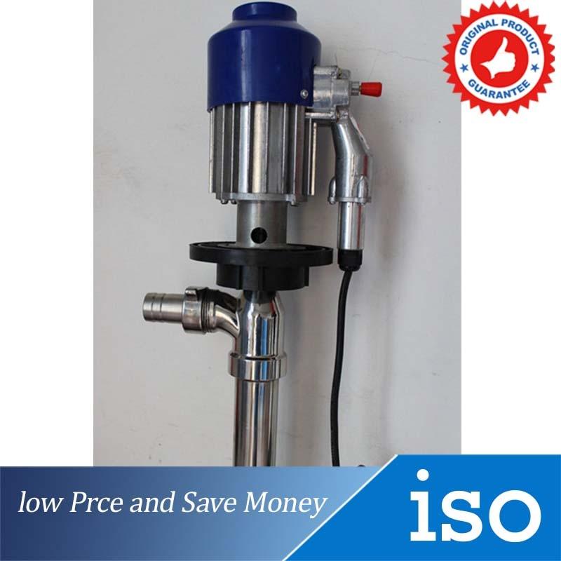 130L min Alcohol Gasoline Liquid Pump 220V Barrel Liquid Transfer Pump