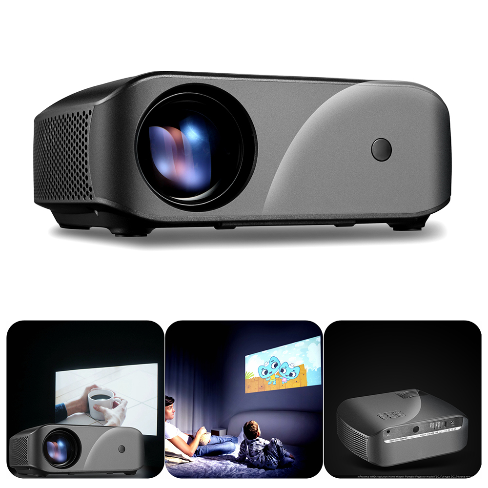 ViviBright F10 1280 720P Digital Projector For Home Beamer HD Mini Projector LED Projector Support SD