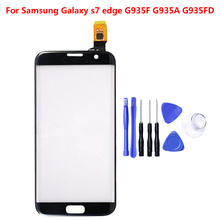 For Samsung Galaxy S7 Edge Panel Touch Screen G9350F G935A G935FD LCD Display Digitizer Sensor Glass
