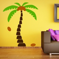Palm Tree Wall Decals Wall Sticker Tree Vinyl Decals Home Decoration Wall Art Living Room Decor Wall Stickers