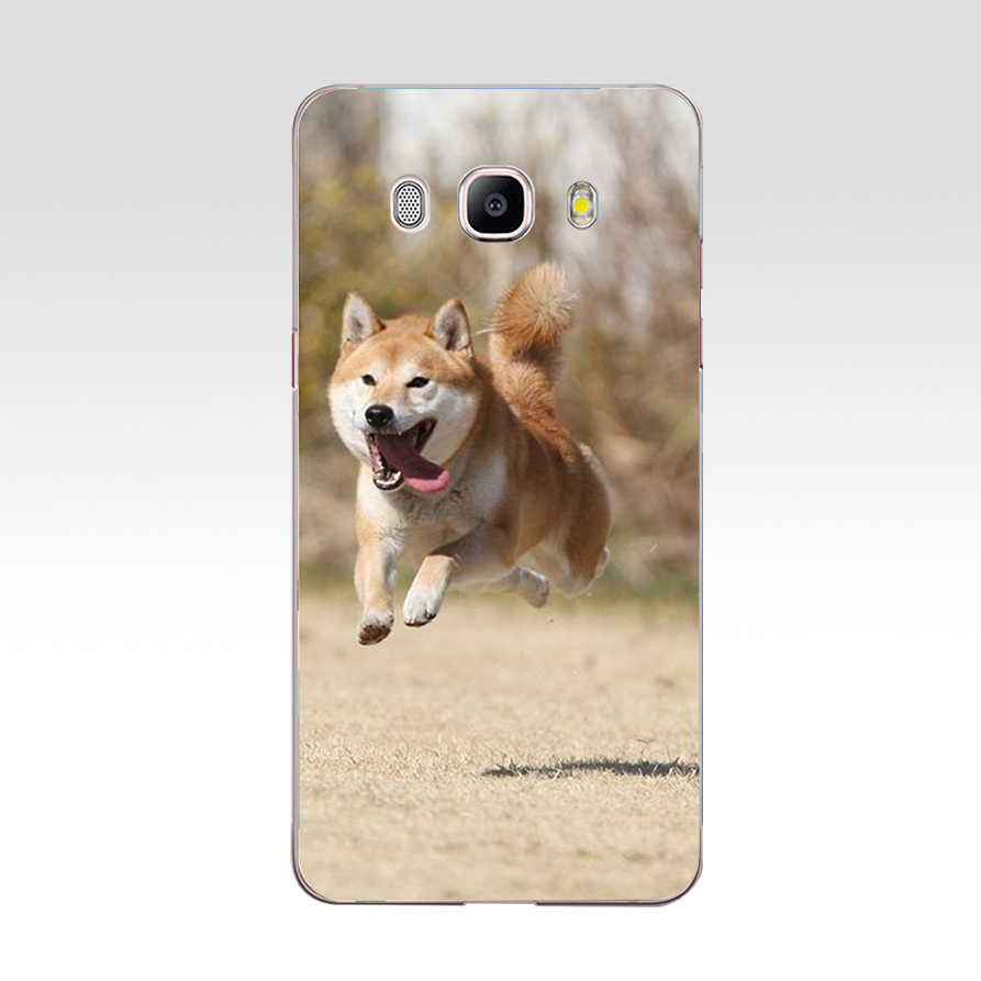 049FG غطاء هاتف محمول من السيليكون اللين على شكل كلب مضحك Doge Shiba Inu لهاتف سامسونج j3 j5 j7 2016 2017 j330 j2 j6 Plus 2018