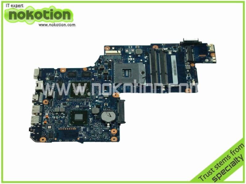 H000041560 laptop motherboard for toshiba satellite L870 hm76 17.3 screen ATI Mobility Radeon HD 7670M DDR3