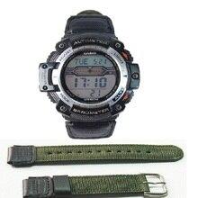 лучшая цена watch strap for casio SGW-300H 400H 500H MRW-200H AE-1000W AE-1300 AE-1200 W-S200H W-800H W-216H W-735H F-108WH W-215 AEQ-110W