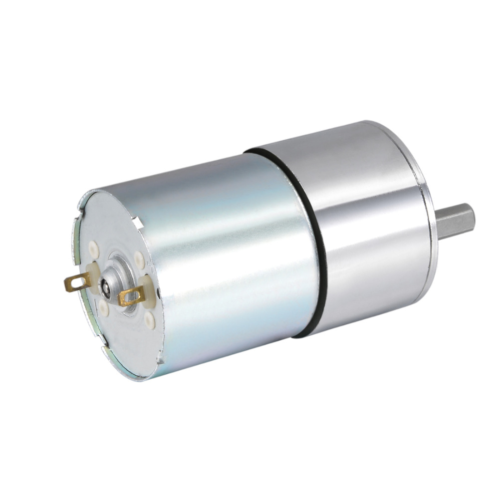 UXCELL(R) 1Pcs 400RPM 12V DC Gear Motor Electric Micro Speed Reduction Geared Motor Eccentric Output Shaft a58sw31zys12 volt 220v powerful dc small motor output shaft gear electric toys 12v permanent generator tubular micro retifica
