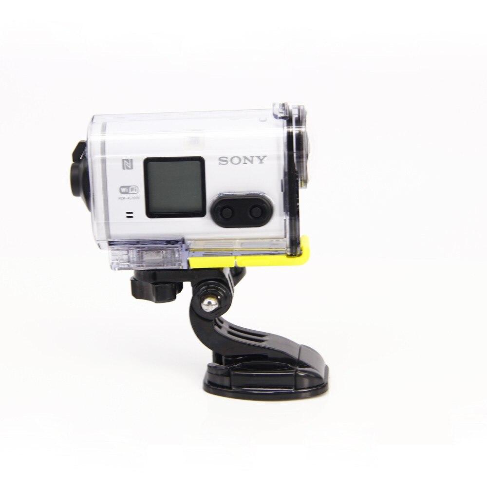 אביזרים עבור Sony Action Cam עולה קסדה במחיר ישיר b דגם הקסדה לפני הר עבור HDR-AS100VA AS30V להפקה ספורט מצלמה
