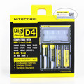 2017Nitecore D4 Digcharger Battery Charger Original Nitecore LCD Display Universal Nitecore Charger +Retail Package ,EU plug