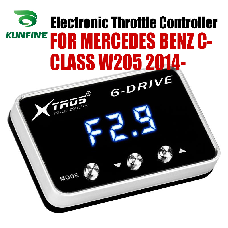 Car Electronic Throttle Controller Racing Accelerator Potent Booster For MERCEDES BENZ C CLASS W205 2014 Tuning