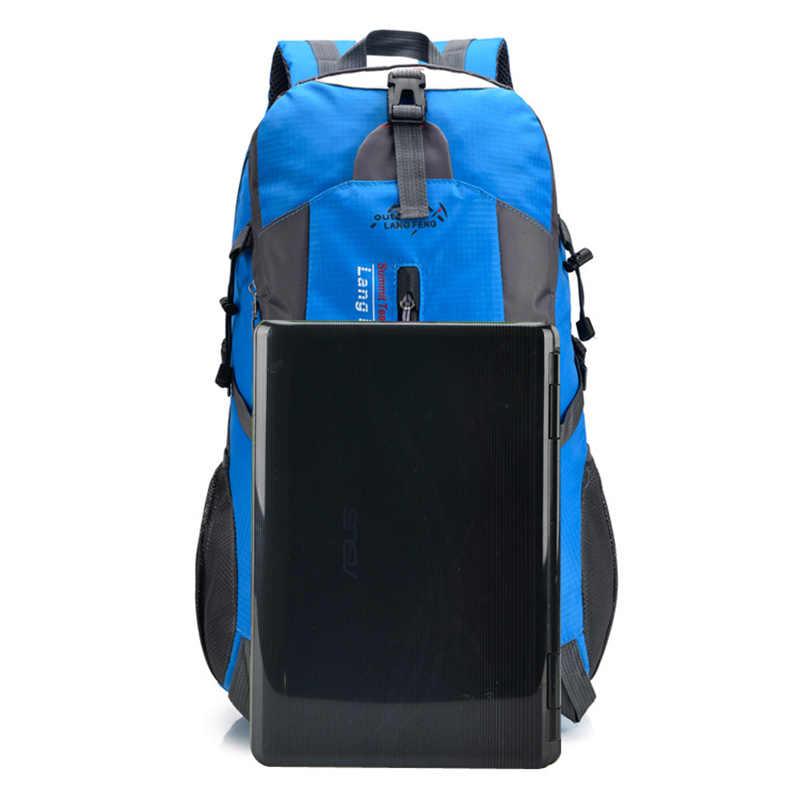 Hot Nilon Pria Ransel Wanita Kapasitas Besar Tahan Air Ransel Perjalanan Escolar Tas Sekolah Tinggi Kualitas Laptop Ransel Mochila