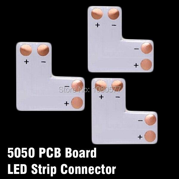 50 teile/los L T X Form 10mm 2pin SMD5050 Led-streifen Eckverbinder, Platine Splitter Stecker Für Richtung Ändern Verwenden