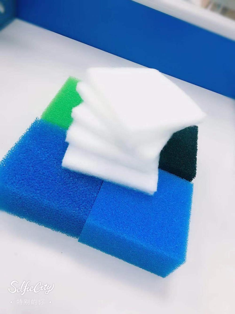 Multi-Set 30PCS Compatible Aquarium Filter Sponge For Juwel Compact/Bioflow3.0 ( 6xFine,6xCoarse,6xNitrate,12xCarbon,6xpolypads)