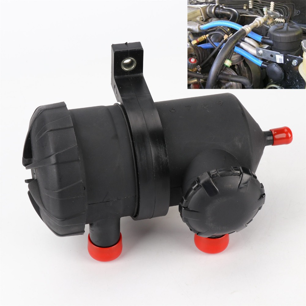 TAIHONGYU Pro 200 Catch Oil Can Inoxydable Filtre fit pour Ford Patrouille ZD30 D40 Turbo 4WD