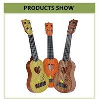 39 см/см 44 см мини гавайские гитары укулеле игрушечная гитара дети музыкальные инструменты игрушка музыкальное образование развития детский день рожде