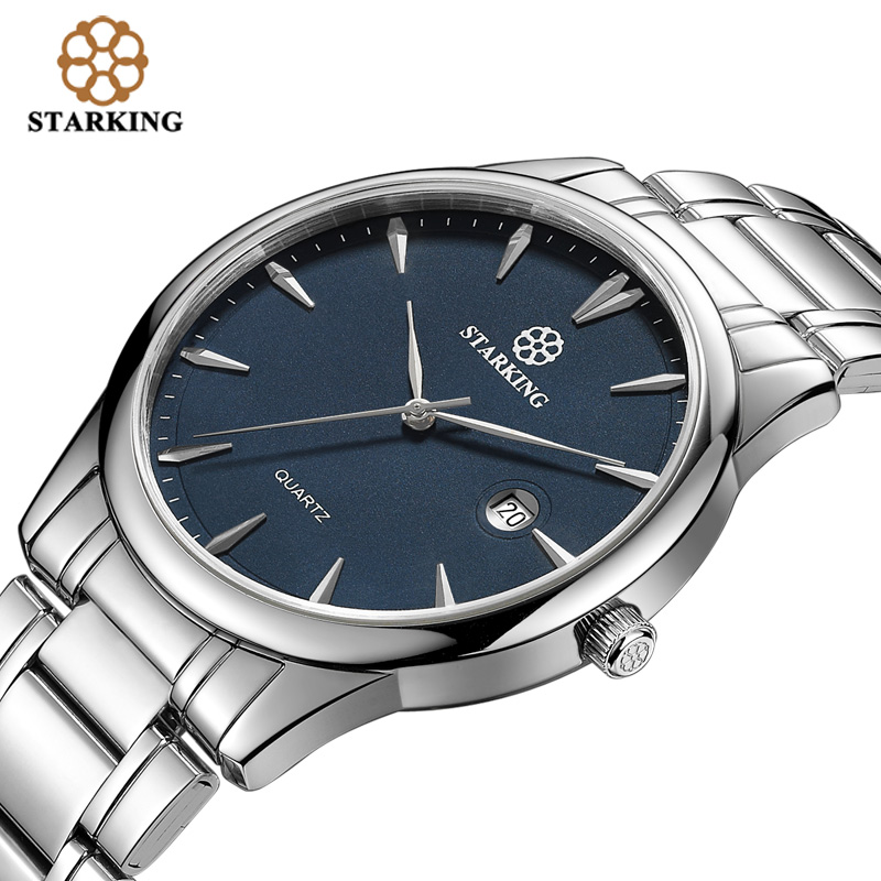 Image 2 - Starking Brand Mens Quartz Watch Imported Japan Movement Watch 316l Stainless Steel Auto Date Fashion Casual Men Watch BM0972watch brandwatch stainlesswatch stainless steel -