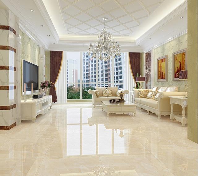 800*800mm Foshan full cast glazed ceramic tile high quality floor tiles  gold glazed indoor