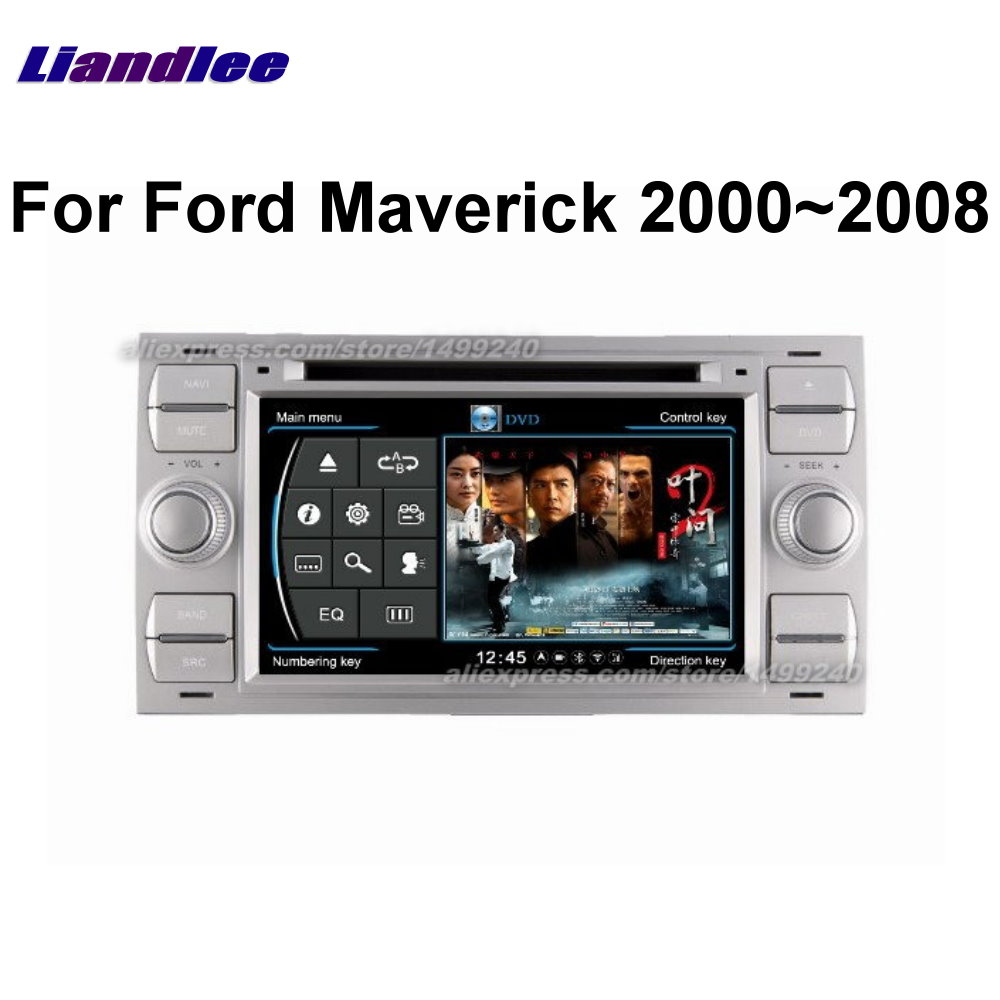Liandlee 2 din Car Android For Ford Maverick 2000~2008 Radio GPS Maps Map Navigation player HD Screen BT WIFI Media System|navigation system|gps navigation system|gps navigation - title=
