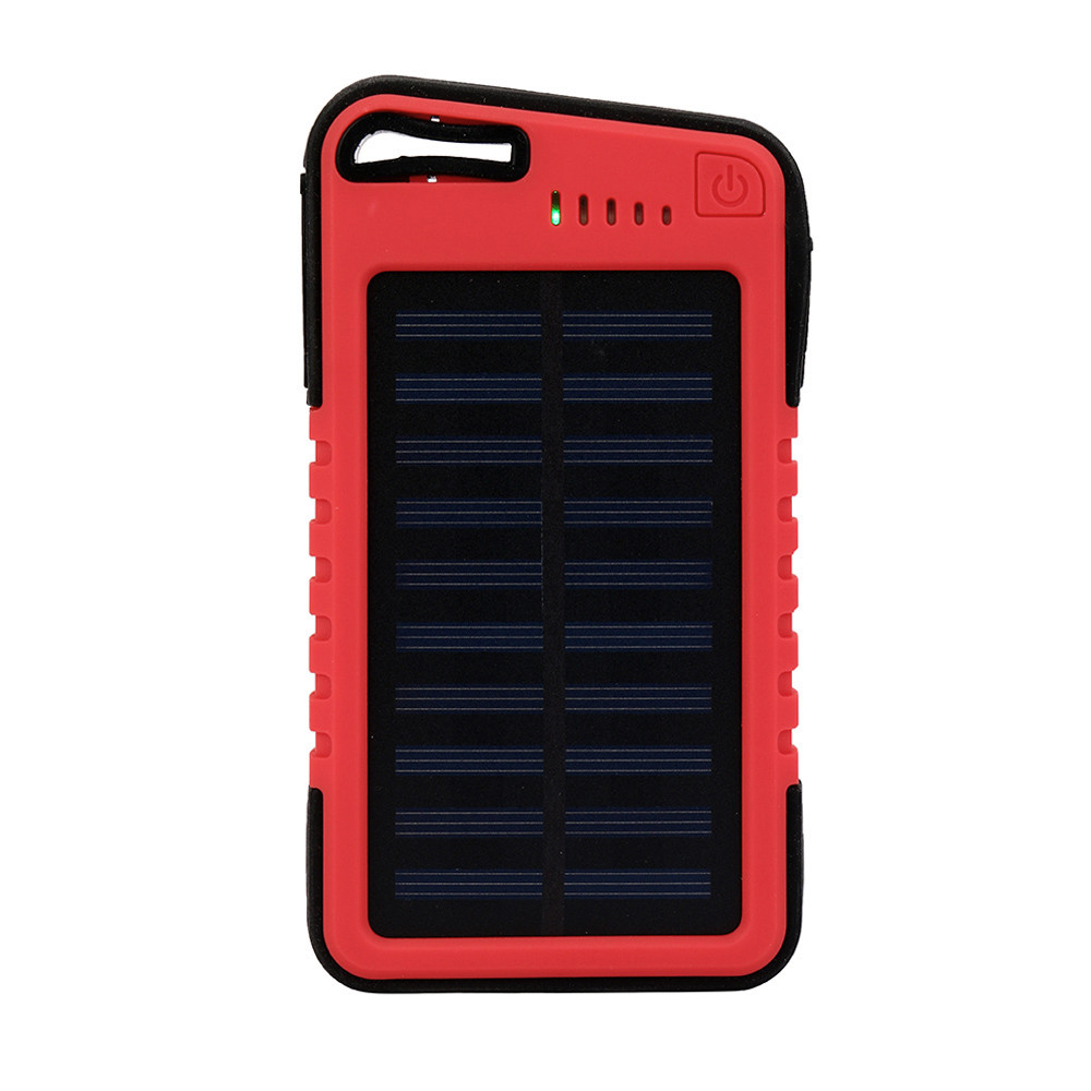 Binmer Hot sale 20000 mah Dual-USB Waterproof Solar Mobile Phone Battery Charger For nokia mobile for iphone 6 6s 5s 7 8 X batte