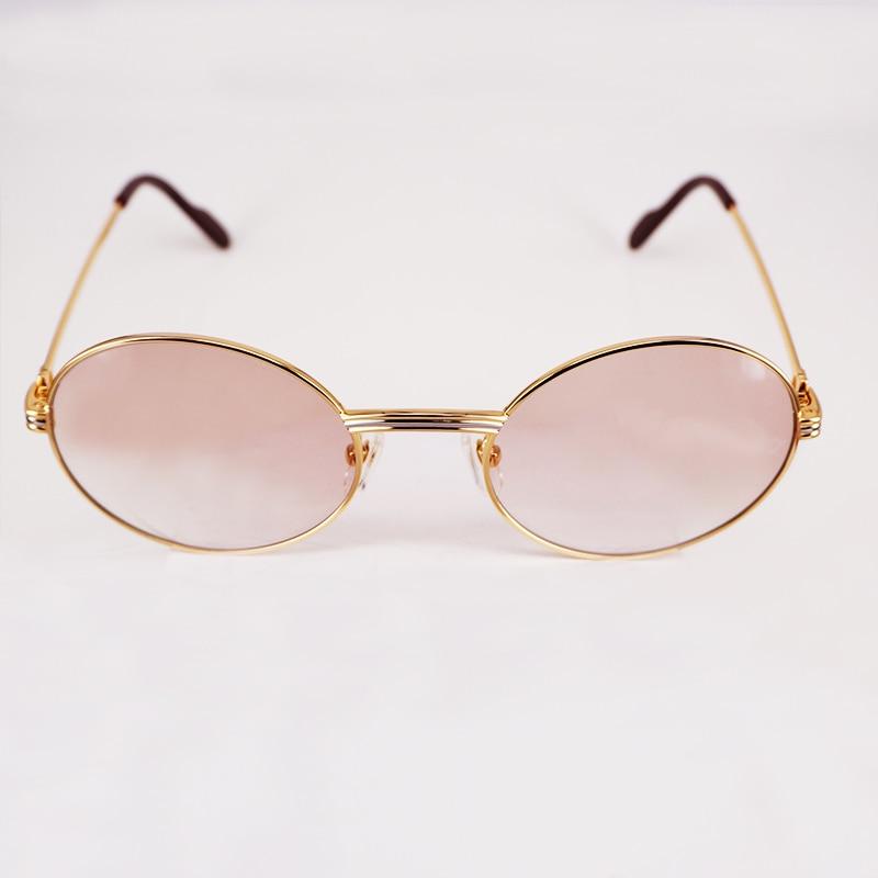 d71dafe3fe7 2018 Vintage Sunglasses Men Luxury Mens Sunglasses Brand Designer Carter  Glasses Frame Sunglass High Quality Oval Shades-in Sunglasses from Apparel  ...